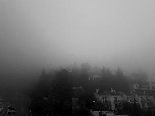 Mist in Mijas Pueblo