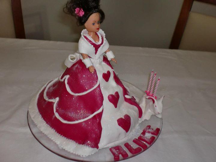 Doll Cake Para a Alice