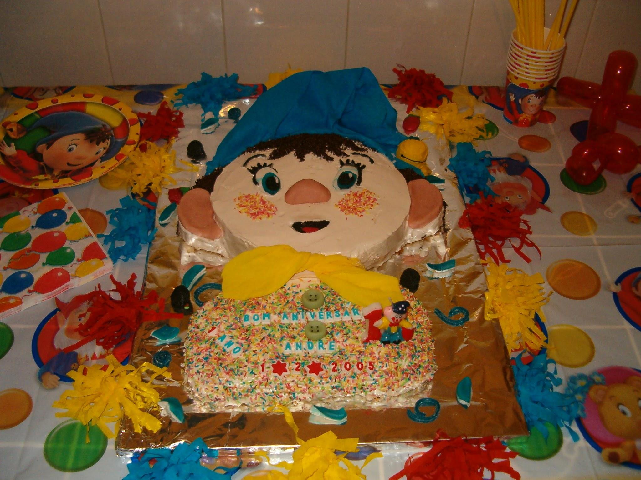 O primeiro bolo do André