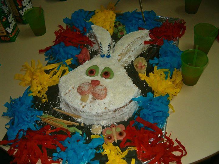 Um coelho - André 2 anos