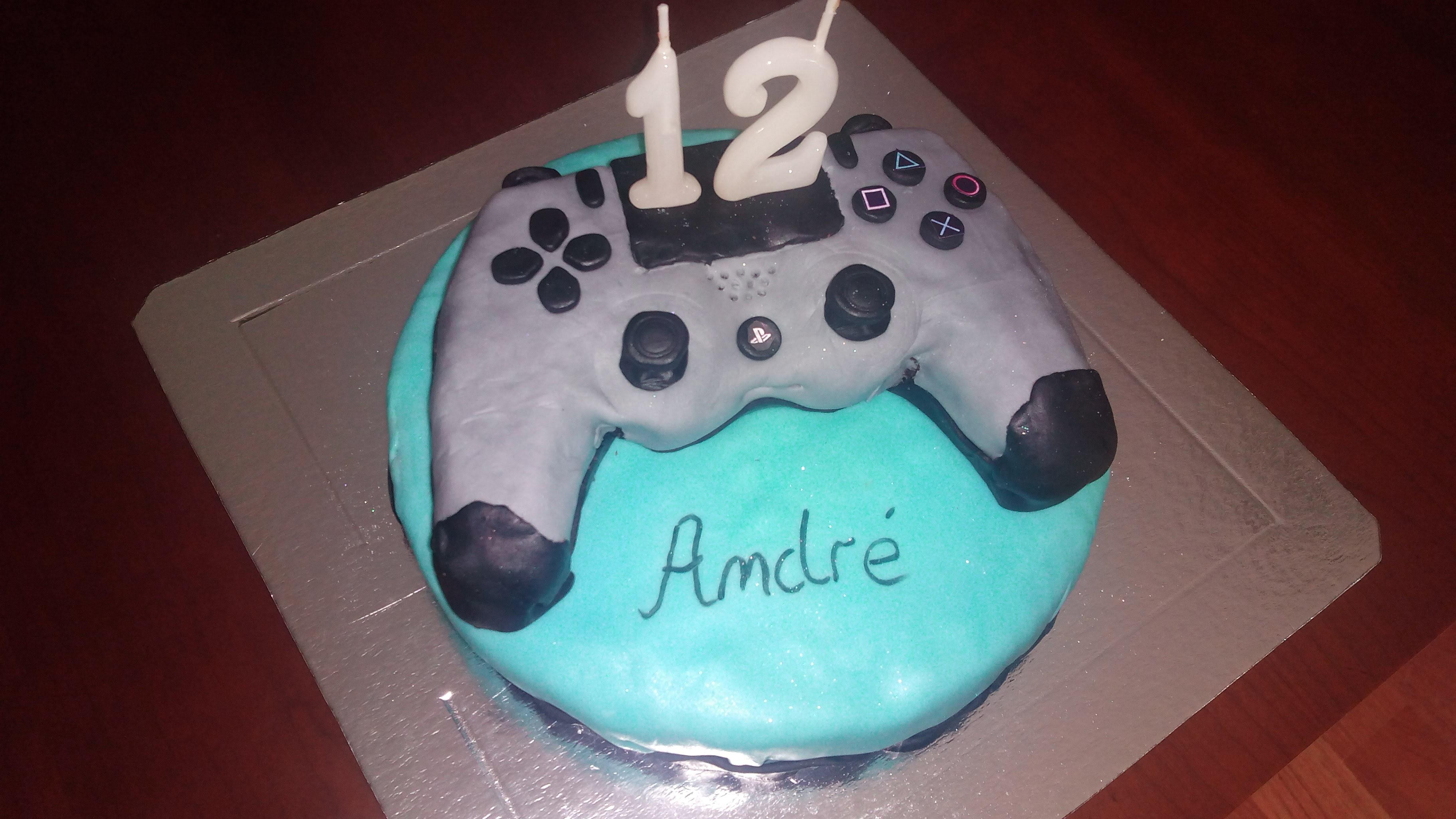Bolo Aniversário 12 anos André