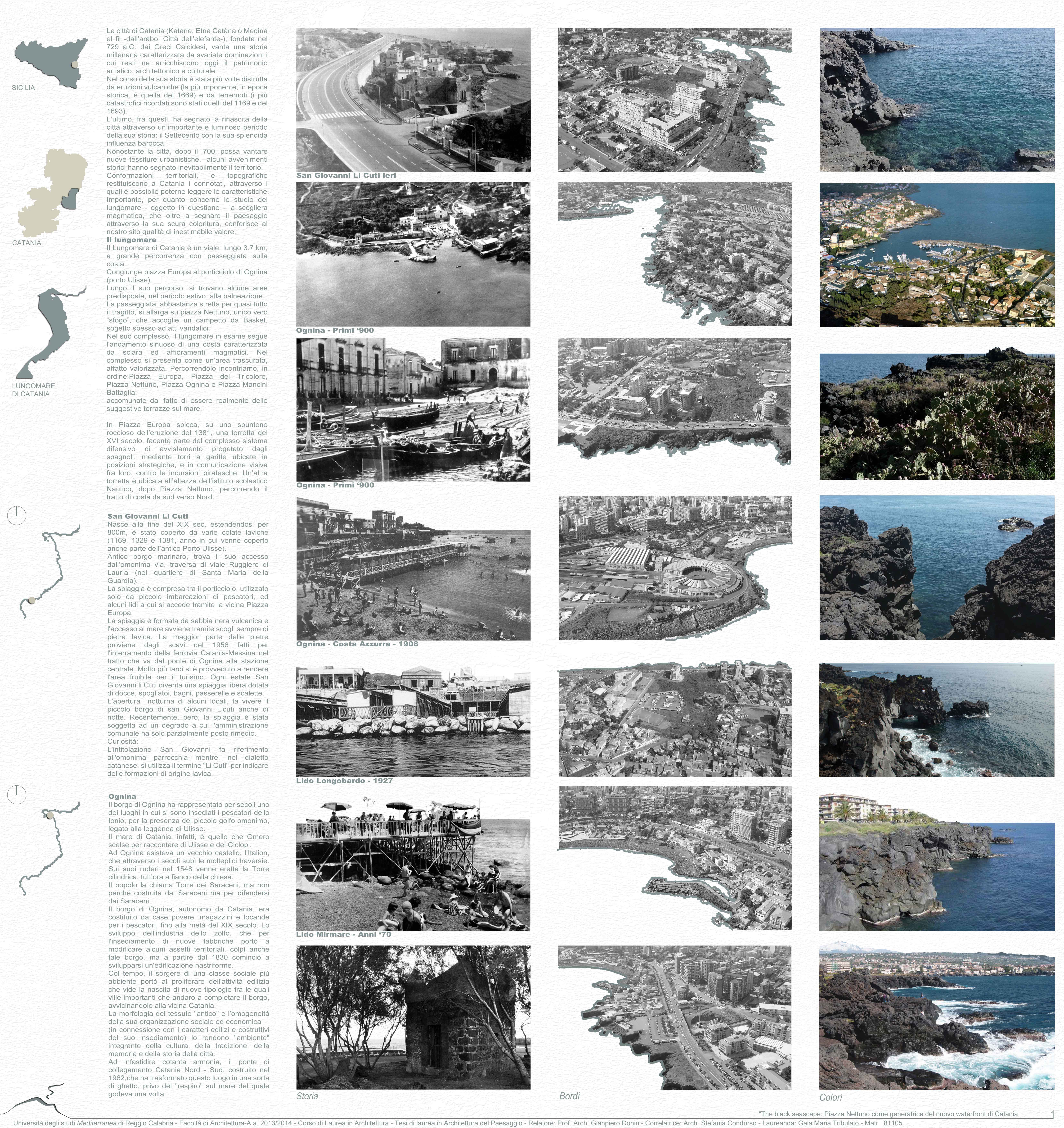 Anni 70 Colori thesis | architecture