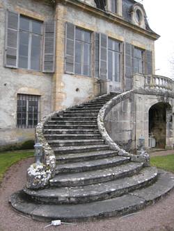 Escalier de la terrasse, Flée