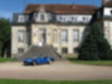 Château de Flée et Voiture de sport