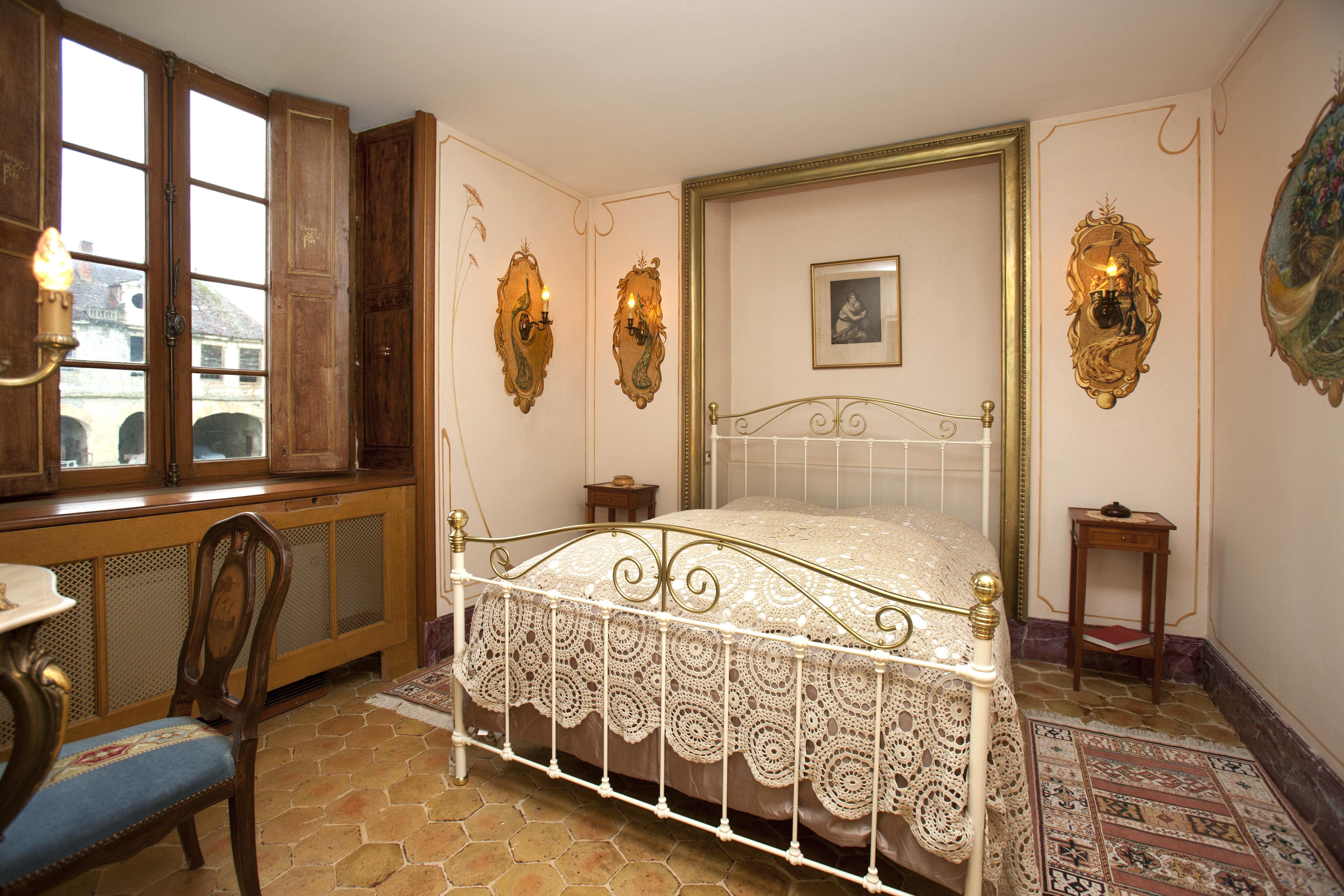 Suite Marquis de Boulois, lit