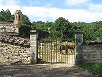 Les portes du Château de Flée