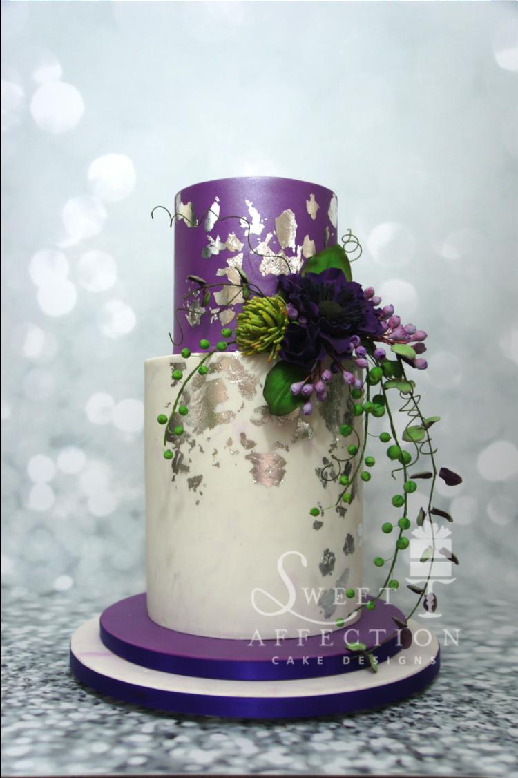 Danielle's engagement cake 3