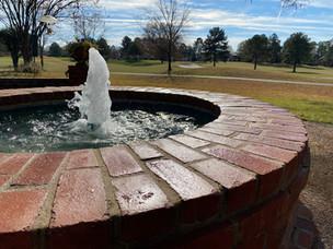 Custom Brick Geyser Fountain