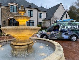 Large Henri Studios Fountain
