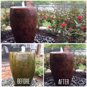 Bubbling Patio Jar