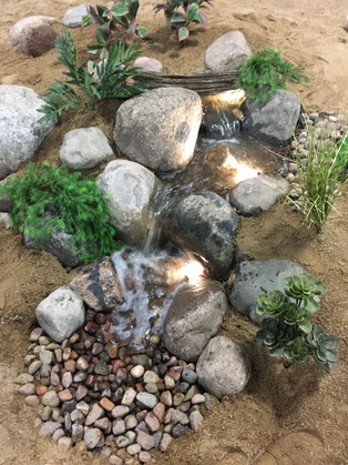 Small Pondless Water Feature