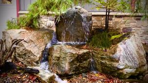 Bubbling Multi-Boulder Fountain