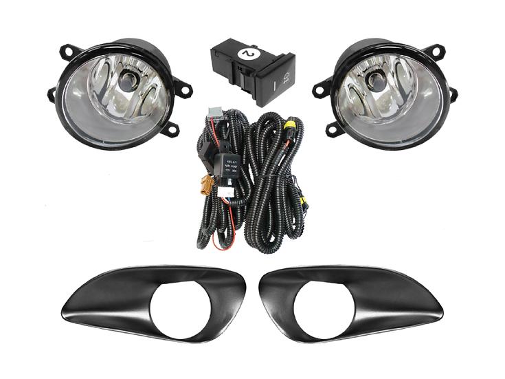 Toyota Vios Fog Lamp (08') Black