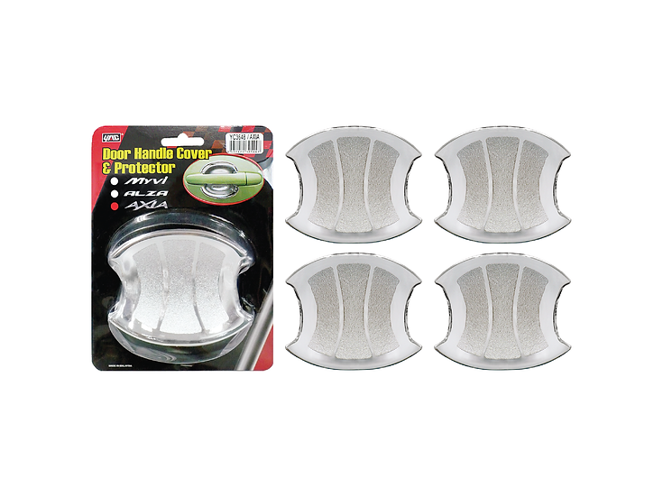 Door Handle Cover & Protector (Bowl) Axia (Chrome)