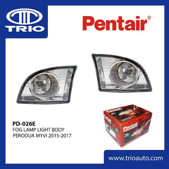 Pentair PD-026E Fog Lamp for PERODUA MYVI 2015-2017