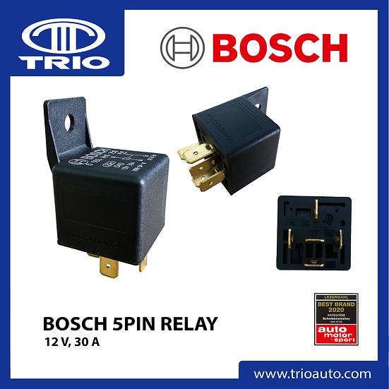 Bosch 5 Pin Relay (12V, 30A)