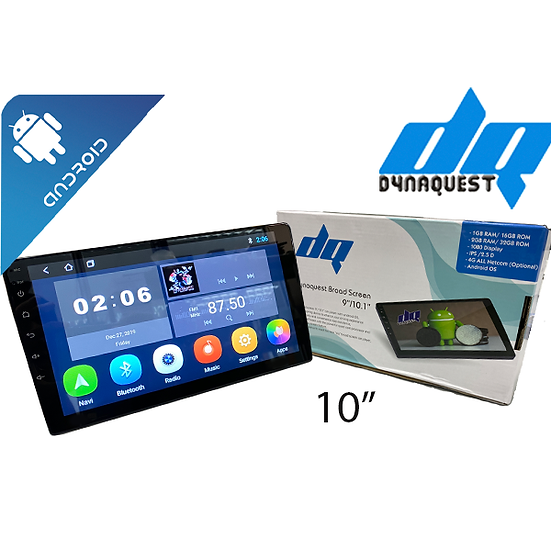 """DYNAQUEST DQ-232 1X 10"""" ANDROID CAR PLAYER"""
