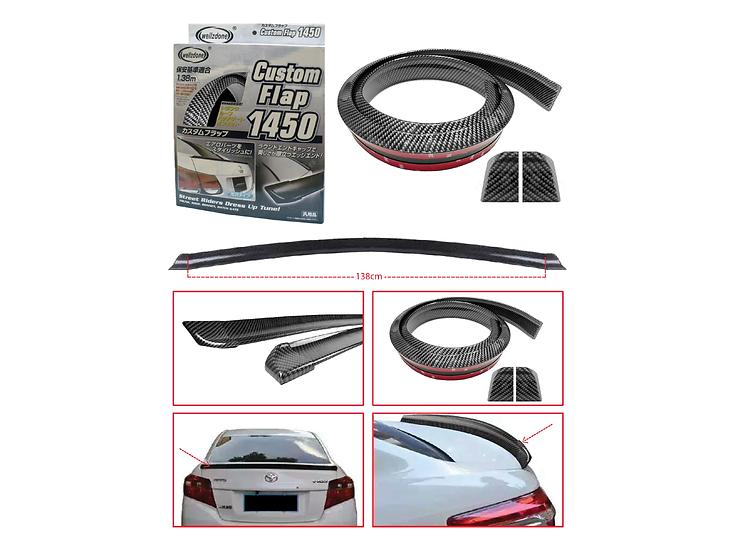Rear Bonnet Protective Carbon (4.5)