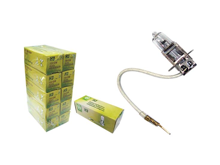 Wheels H3 Bulb 55W (10pcs/box)