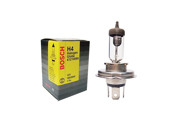 Bosch Halogen H4 Bulb 100W (10pcs/box)