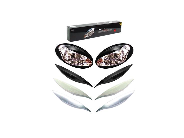 Eye Lid Cover Myvi (Ivory White)