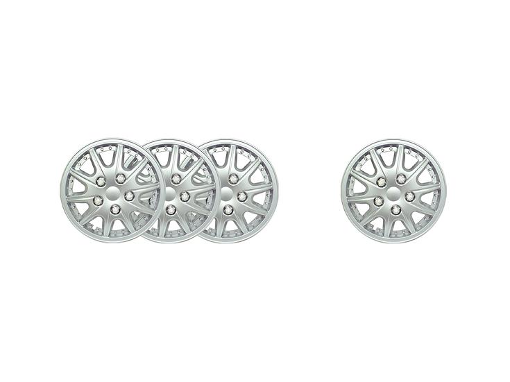 "Wheel Cover WJ-5004A-ABS-12""(Silver)"