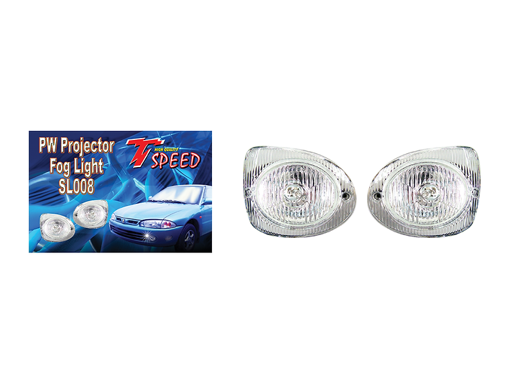 T-SPEED Projector Fog Lamp (Wira) (White)