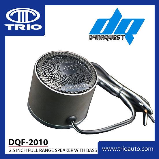 """DQF-2010 - 2.5"""" Full Range Speaker with Bass"""