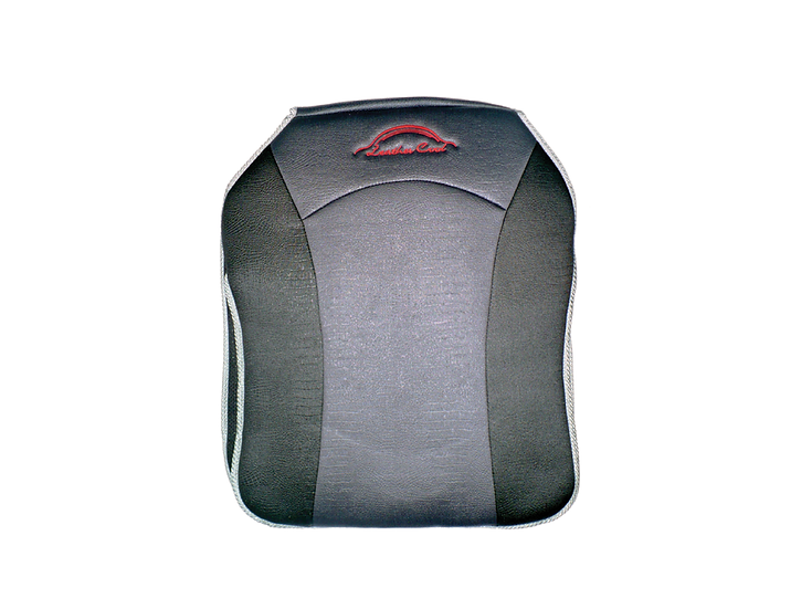 Leather Cool Seat Cushion (Black with Grey Lining)