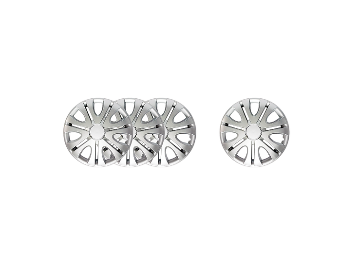 "Wheel Cover WJ-5082A-ABS-15"" (Silver)"