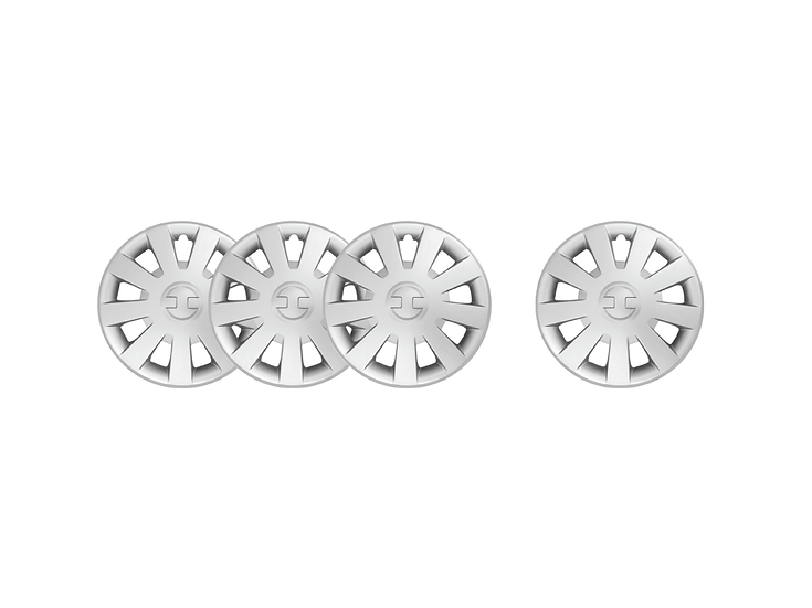 "Wheel Cover GT300 13"" (Silver)"