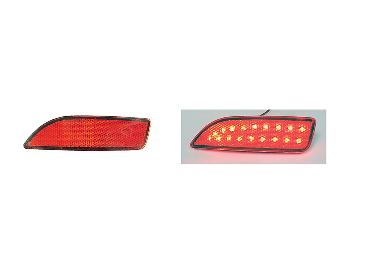 Toyota Altis Rear Reflector PD-315 with Red LED