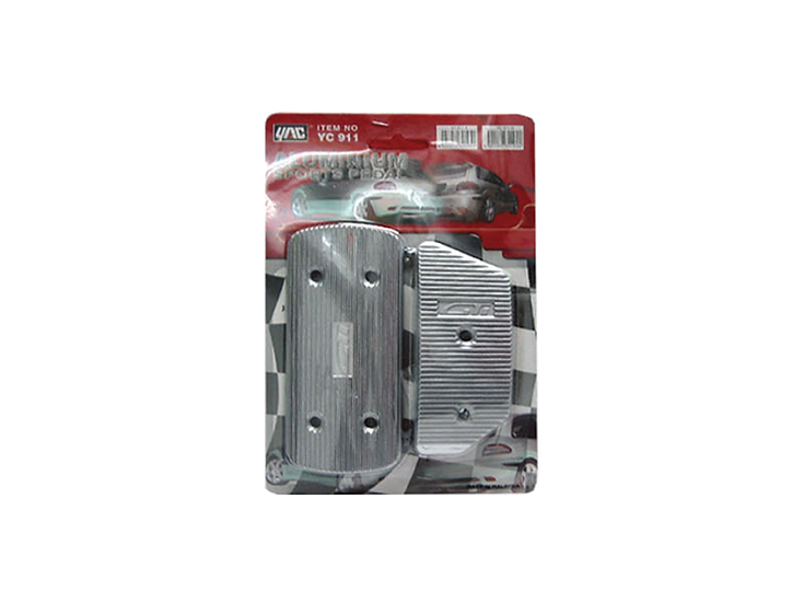 Pedal Kit Aluminium (Auto)