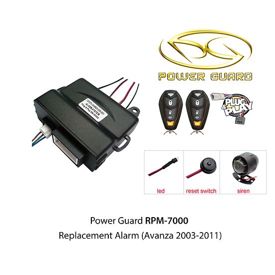 Power Guard RPM-7000 (Toyota Avanza)