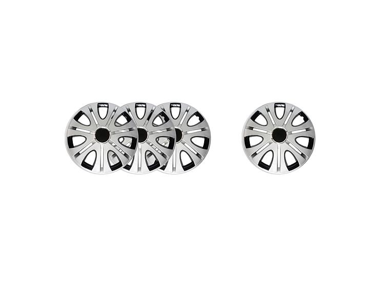 "Wheel Cover WJ-5082-DP-13""(Silver/Black)"