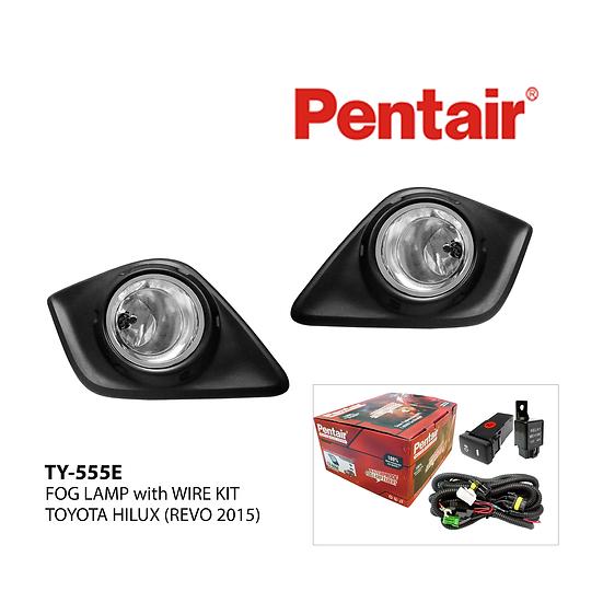 Pentair TY-555E Fog Lamp Set for TOYOTA HILUX (REVO 2015)