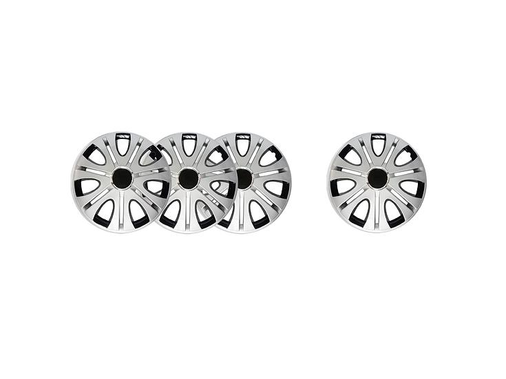 "Wheel Cover WJ-5082-DP-14""(Silver/Black)"