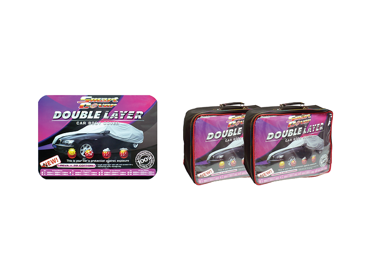 Double Layer Car Body Cover (L)