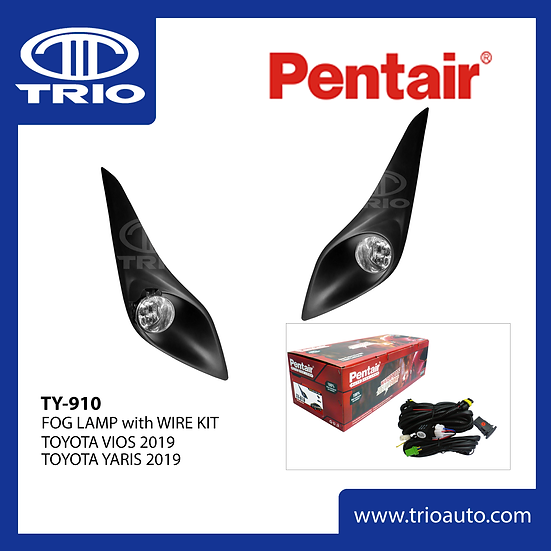 Pentair TY-910 Fog Lamp Set for TOYOTA VIOS 2019   TOYOTA YARIS 2019