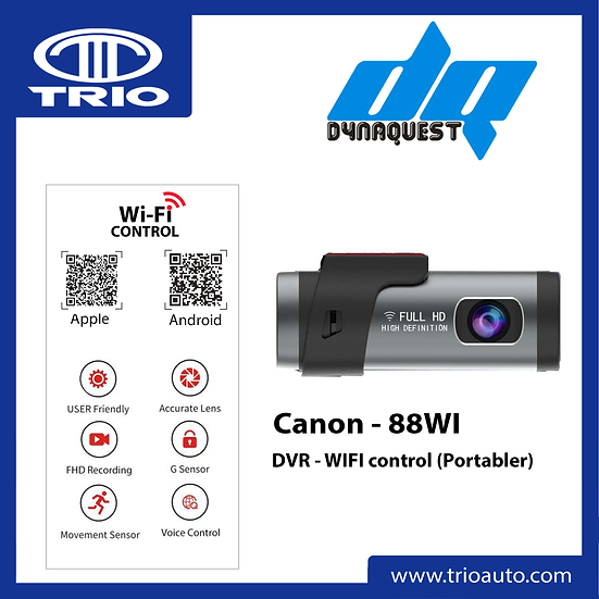 Dynaquest Canon-88WI WiFi DVR