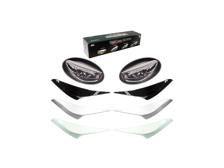 Myvi Icon Head Lamp Lid Cover (Glittering Silver)