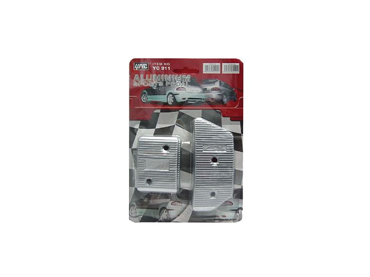 Pedal Kit Aluminium (Manual)