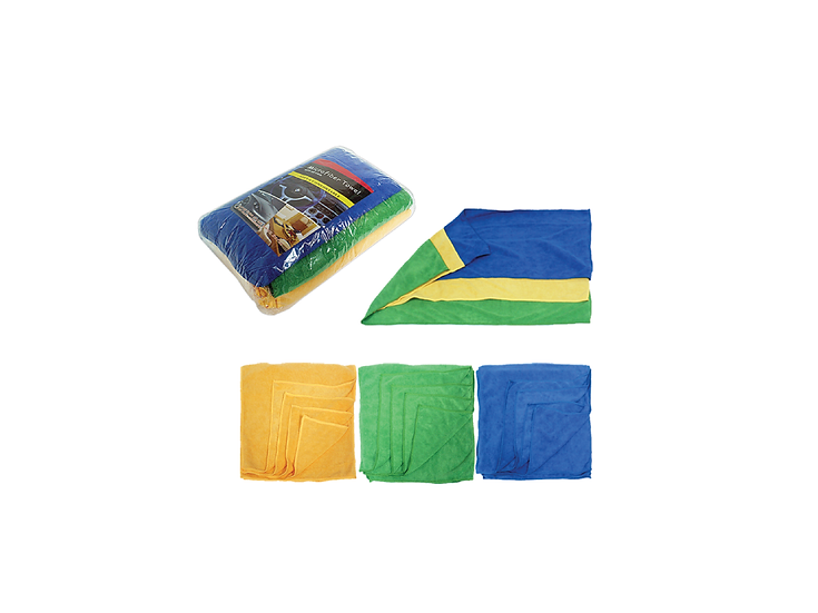 Car Cloth 33cm x 65cm (12pcs per packet)