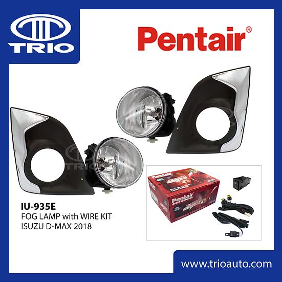 Pentair IU-935E Fog Lamp Set for ISUZU D-MAX 2018