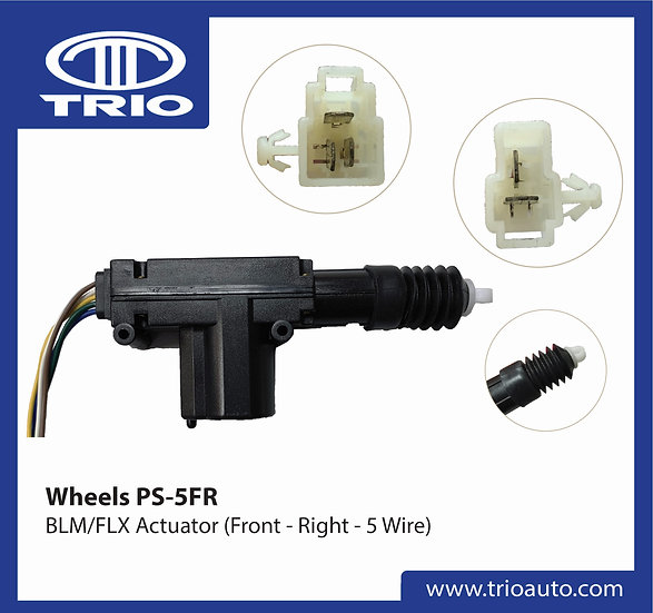 Wheels PS-5FR (OEM BLM/FLX Actuator)