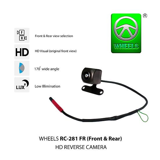 Wheels RC-281 FR (Front & Rear) HD camera