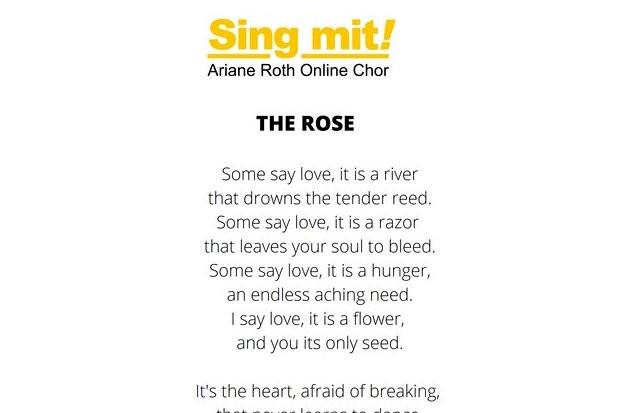 Songtext Cutout