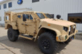 Joint Light Tactical Vehicle (JLTV) at QPC's Shipping/Receiving office