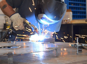 Welding a structure