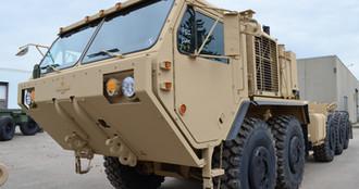 HEMTT military truck